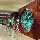 Alien Plasma Generator by Sandra Bauser Digital Art