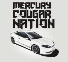 Mercury Cougar NATION (grey rims, black text)  by nwdesign