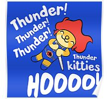 Thunder Kitty Poster