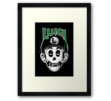 Luigi Fiend Framed Print