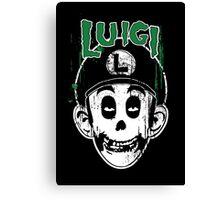 Luigi Fiend Canvas Print