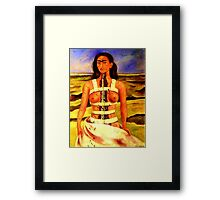 TRIBUTE TO FRIDA KAHLO, by E. Giupponi Framed Print