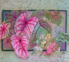 Caladiums 6 by Deborah Younglao