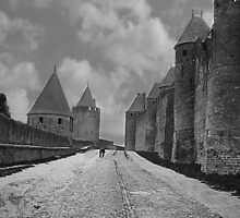 The Lists at Carcassonne France by Paul Pasco