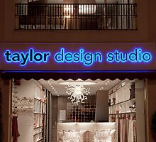 Taylor Design Offices - Night by Philip  Rogan
