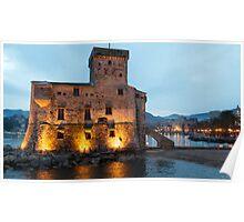 Rapallo castle Poster