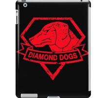 Diamond (Red) iPad Case/Skin