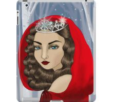 The Ice Maiden - The Keeper of Winter iPad Case/Skin