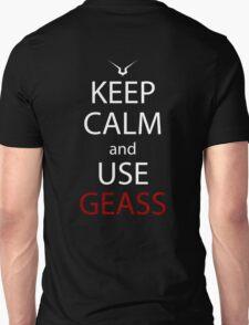 code geass keep calm and use geass anime manga shirt T-Shirt