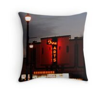 Fine Arts Theater Throw Pillow