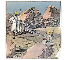 Louis Charles Bombled Merina artillery in ambush Henri Gallichet 1850 1923 Poster