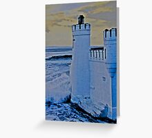 A wash with sea water Greeting Card