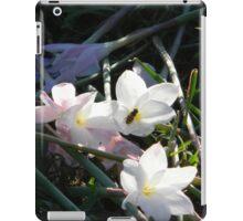 Broken Flowers, Vandalism iPad Case/Skin