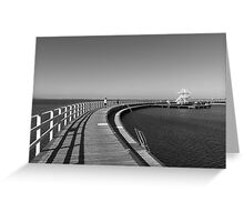 Geelong Boardwalk Greeting Card