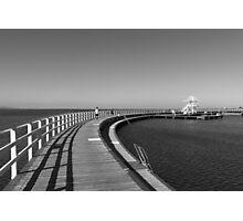 Geelong Boardwalk Photographic Print