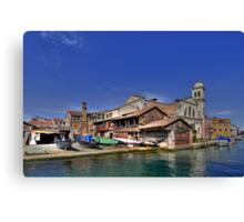 Squero di San Trovaso - Venice Canvas Print