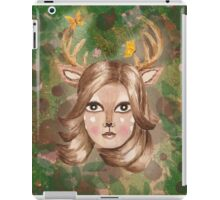 Keeper of the Woodlands – FOCUS ON YOUR BLESSINGS iPad Case/Skin