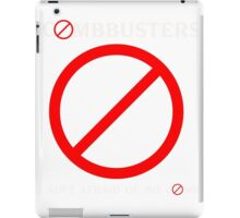 Combbusters - Ghostbusters Parody iPad Case/Skin
