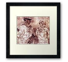 Our War: Day 225-20110313 Framed Print