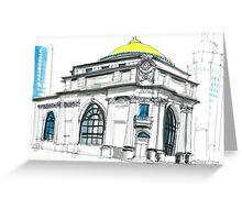 Buffalo Architecture  Greeting Card