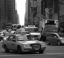 In The City by vixteruk