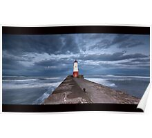 Berwick Lighthouse Poster