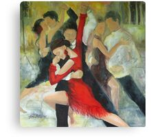 Sentimental tango Canvas Print