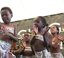 Dancing zulu girls by eddiebotha