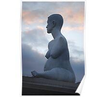 Alison Lapper Pregnant Statue Poster