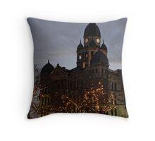 The Courthouse Throw Pillow