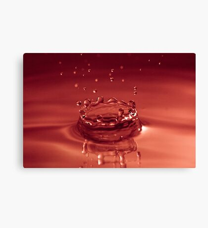 The Red Crown Canvas Print