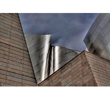 Disney Concert Hall Photographic Print