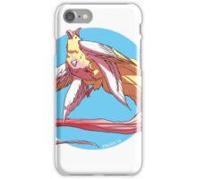 magical unicorn bird iPhone Case/Skin
