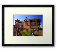 St Peter's Church Fleetwood Framed Print