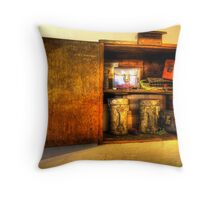 12 New Cannisters Throw Pillow