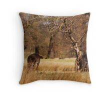 Fellows Going To Diner Throw Pillow