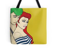Superheroes Day Off Tote Bag