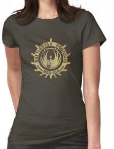 Battlestar Pegasus Womens Fitted T-Shirt