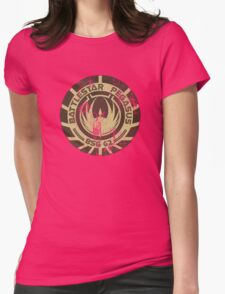 Battlestar Pegasus Womens Fitted T-Shirt