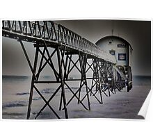 Lifeboat station Selsey Poster