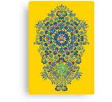 Yellow Porcelain Canvas Print