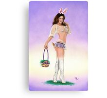 Egg Hunt Canvas Print