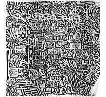 Graffiti #8f Poster
