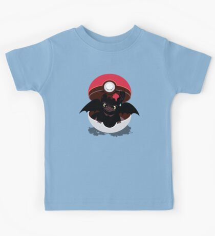 How To Catch Your Dragon Kids Tee