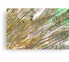Botanical Abstract in Pastel X Canvas Print