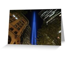 Memorial Lights Greeting Card