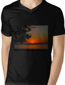As the Sun Goes Down Mens V-Neck T-Shirt