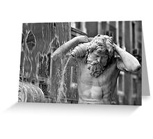 Fontana dell'Amenano Greeting Card
