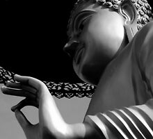 Vitarka Mudra- The Hand of Buddha by Breanna Stewart