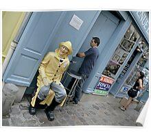 Yellow Rain Slicker Poster